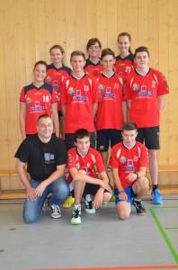 Neuformiertes Mixed-Team mit H. Zefferer