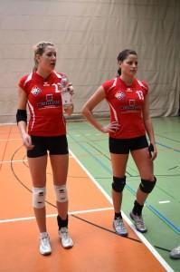 Ronja Braitsch (links) und Carina Kühnau (rechts)