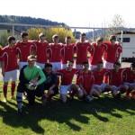 B-Jugend SV Hausach mit Trainer Armin Badke