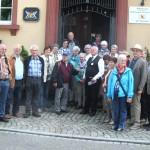Männerriege im Schulmuseum Zell-Weierbach