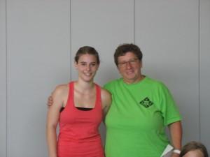 Jessica Rößler und Hilda Spinner